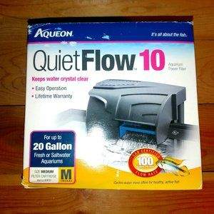 aqueon quiet flow 10 fish filter